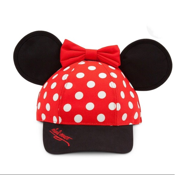 51e0ed99dc77c Disney Other - Disney Hat - Minnie Mouse Ears with Bow